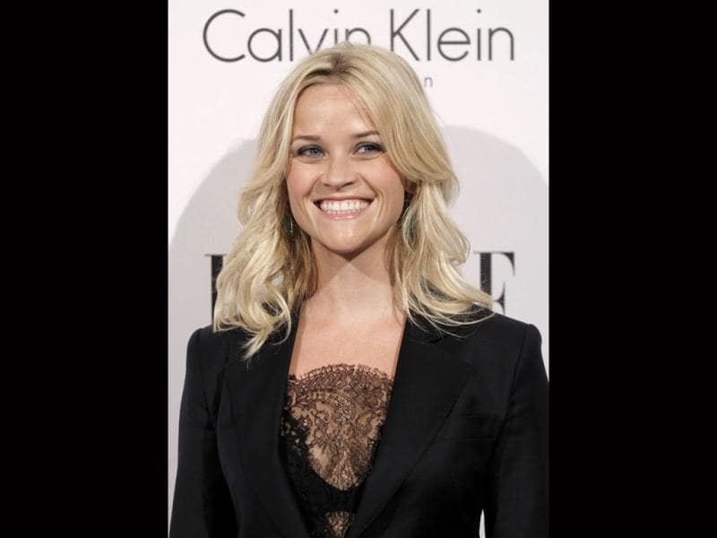 Reese Witherspoon is all smiles at the gala night. (AP)