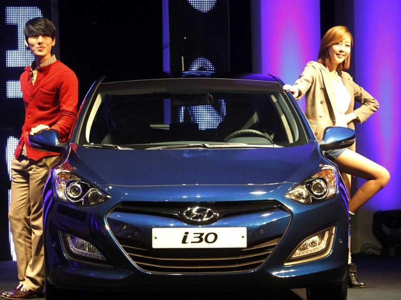 The revamped i30 will hit Europe in January next year, Australia and the Middle East in March and the United States in May.