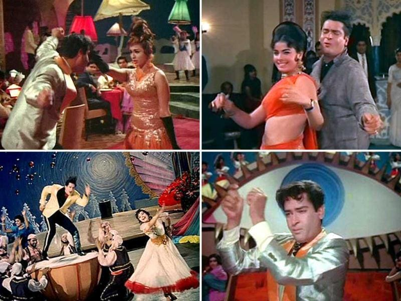 Shammi heralded the swinging 60s and a large part of his appeal was primarily due to the immensely catchy and upbeat numbers like Suku Suku, O Haseena Zulfo Wali, Aaj Kal Tere Mere Pyar Ke Charche, Aaja Aaja Main hoon Pyar Tera where he was at his boisterous best.