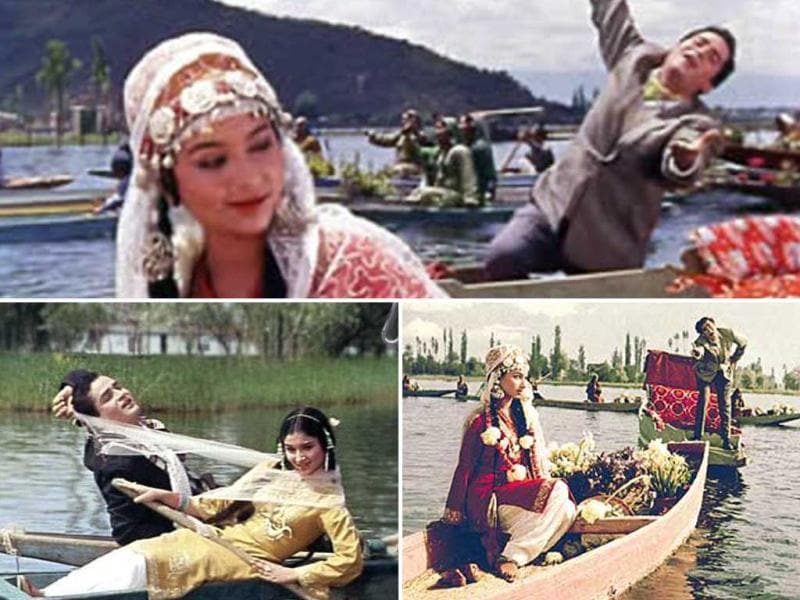 Shammi's chemistry with Sharmila Tagore in Kashmir Ki Kali is timeless.