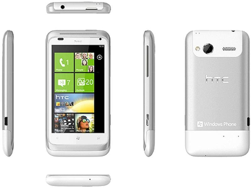HTC Radar: This baby has the latest version of Windows Phone, Mango, powering its innards. Windows Phone 7 is gradually picking up a very loyal fan base and is an extremely worthy second runner up in the race of smart phone operating systems.