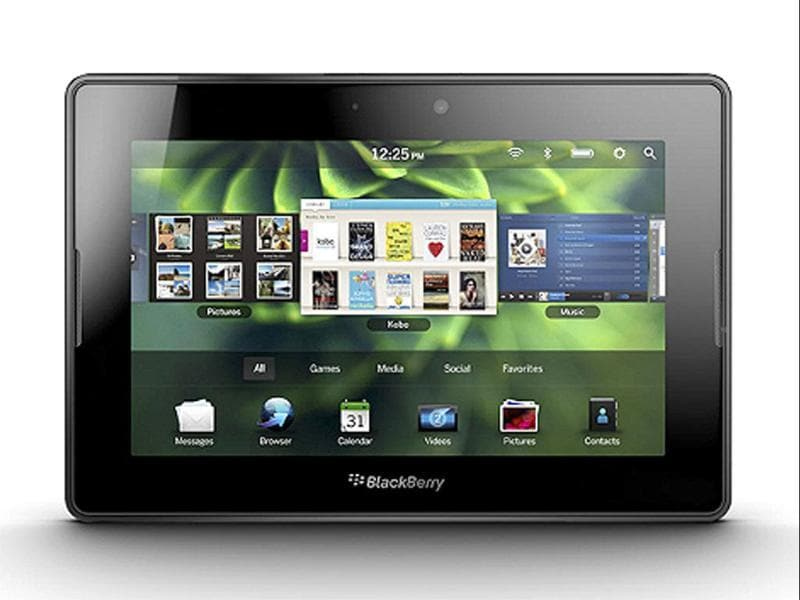 Blackberry PlayBook: Built to perform, the BlackBerry PlayBook helps transform the way you work and play by combining the features you need with a powerful, ultra-portable design you want. What more, for the Diwali season, you can even get a Blackberry Curve free with a Playbook!