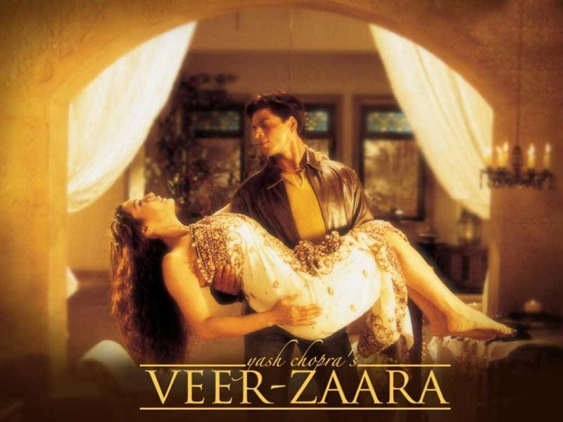 2004: SRK and Preity's screen chemistry in Veer Zaara translated into a box-office hit.