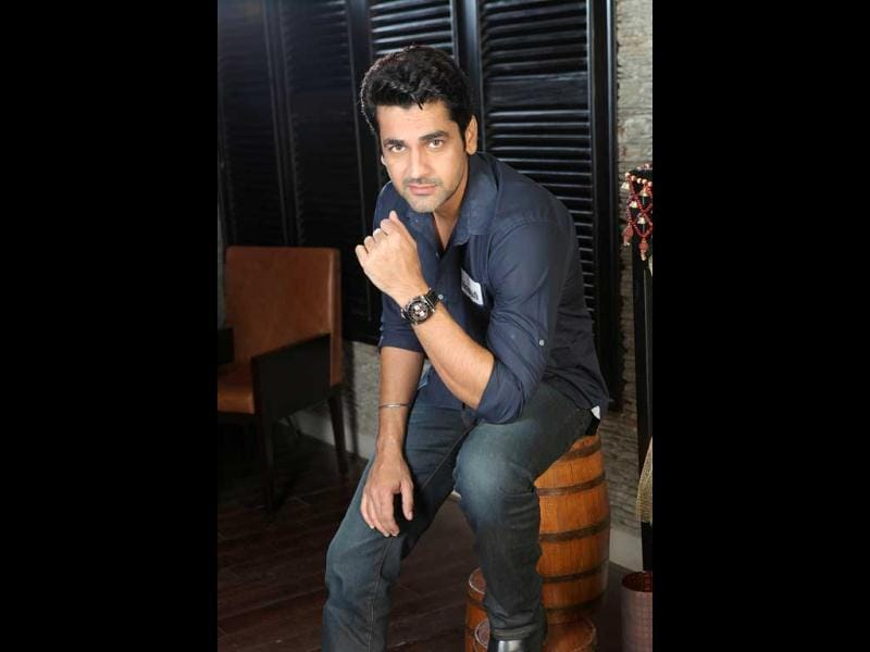 Arjan Bajwa is also playing an important role in Tell Me O Khuda. (HT Photo/Manoj Verma)