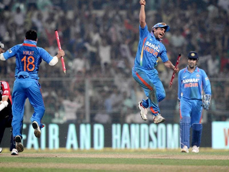 India have won the 5th ODI against India, clinching the series 5-0 (HT Photo/ASHOK Nath Dey)