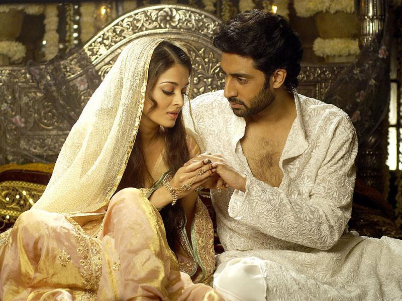 Aishwarya Rai and Abhishek Bachchan also starred together in the remake of Umrao Jaan.