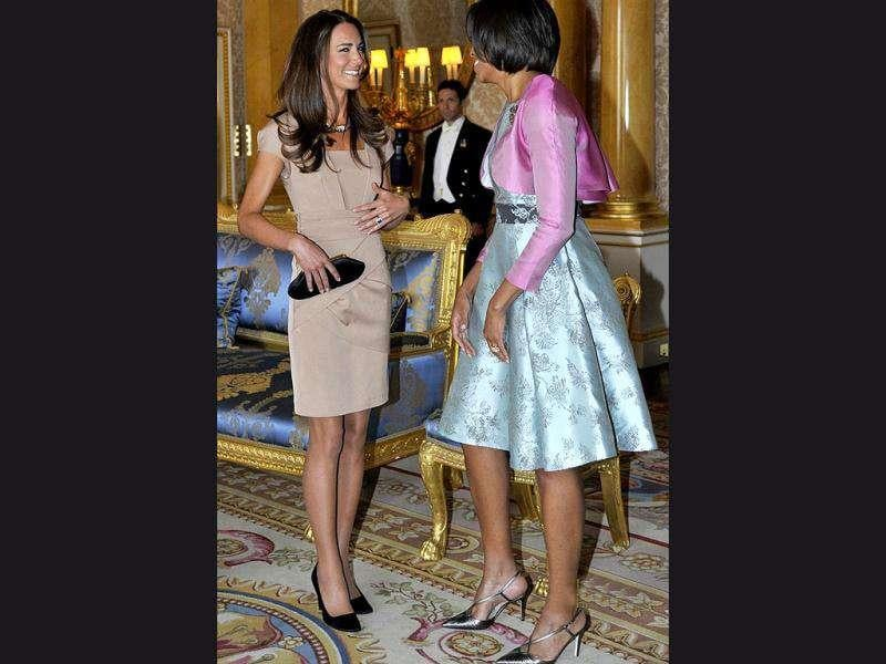Kate Middleton's reiss dress created quite a demand following her meeting with US First Lady Michelle Obama.