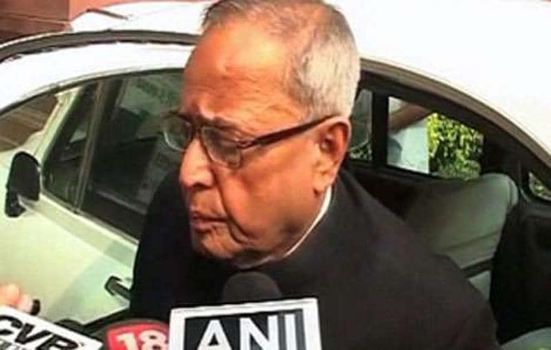 Govt shouldn't be blamed for petrol price hike: Pranab