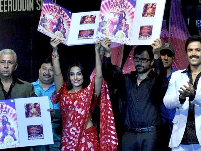 The Dirty Picture stars Naseeruddin Shah, Vidya Balan, Emraan Hashmi and Tusshar Kapoor launch the film's music.