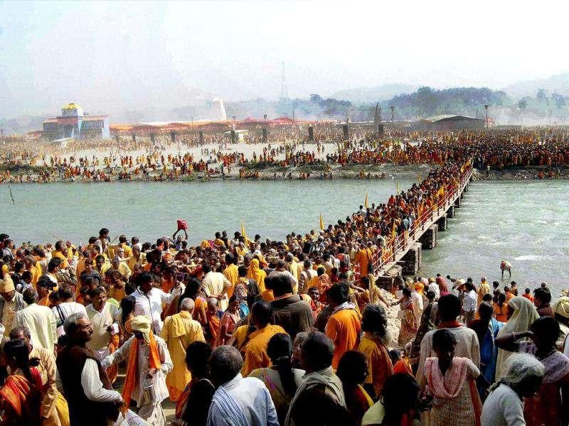 The stampede during Gayatri Mahakumbh, a religious ceremony in Haridwar, killed 16 and injured many.