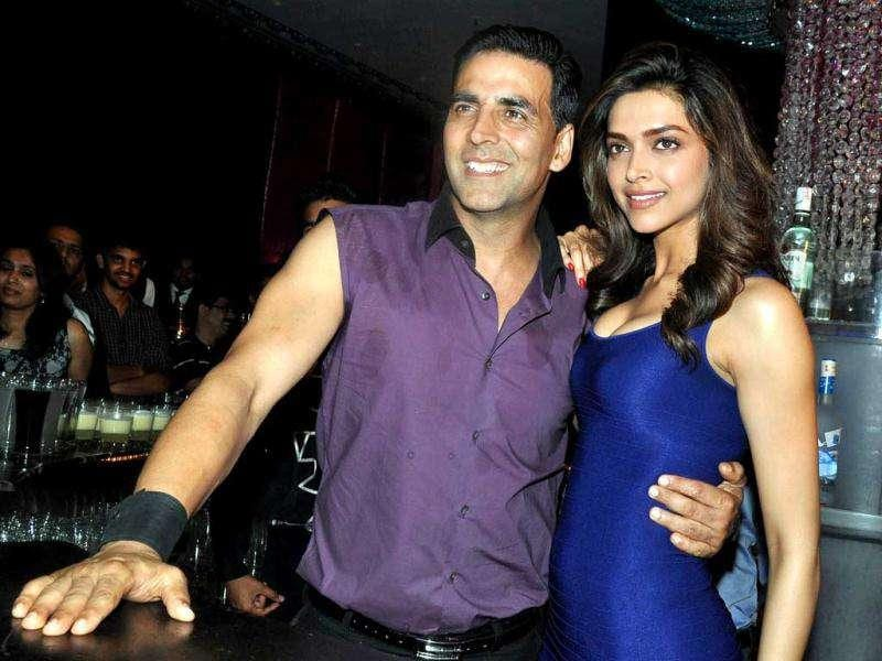 After working together in Housefull and Chandni Chowk To China, Akshay Kumar and Deepika Padukone feature again in this film but not opposite each other.