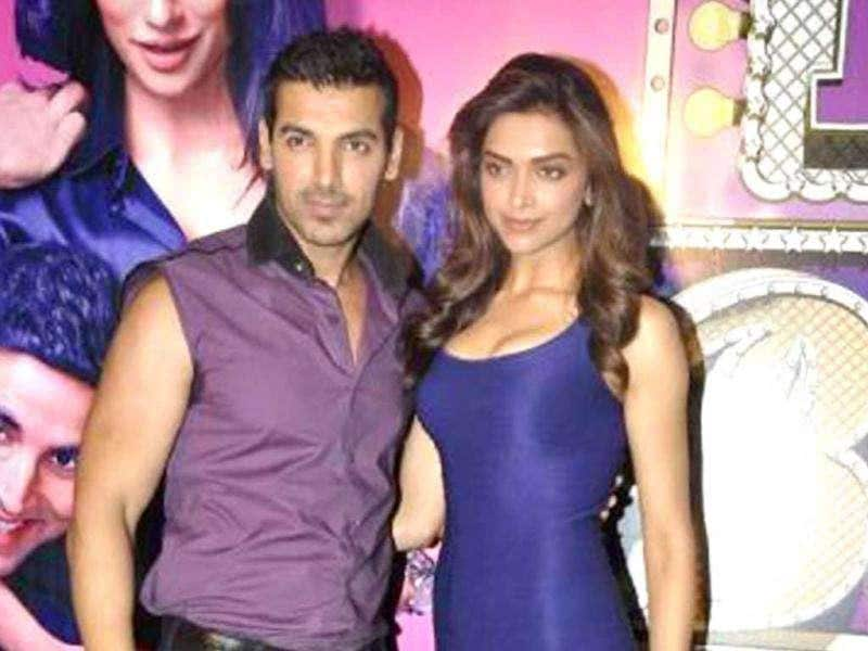 John Abraham will be seen romancing Deepika Padukone in the film.