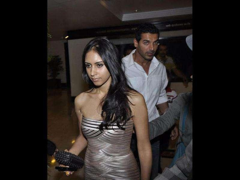 John Abraham was earlier also spotted with Priya.