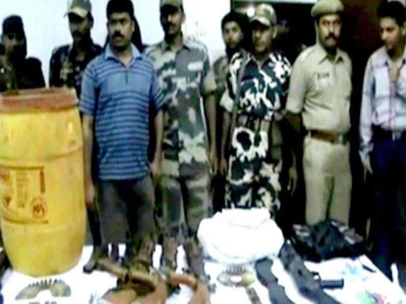 Maoists arrested in WB