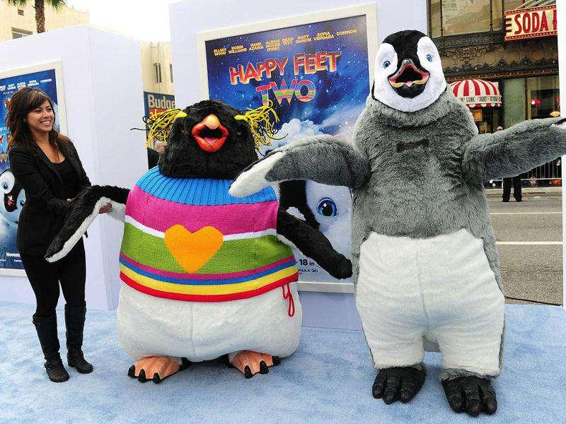 From Elijah Wood to Robin Williams, the cast of Happy Feet Two was seen at the world premiere of the film in Hollywood. The film will be in RealD 3D, IMAX 3D on November 18, 2011. Check out who was there.