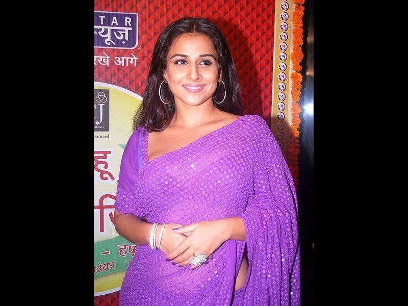 Vidya Balan promotes The Dirty Picture at the Saas Bahu Saasish bash.