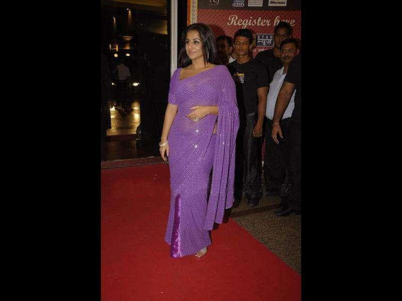 Vidya has been promoting the film at various events and on the small screen as well.