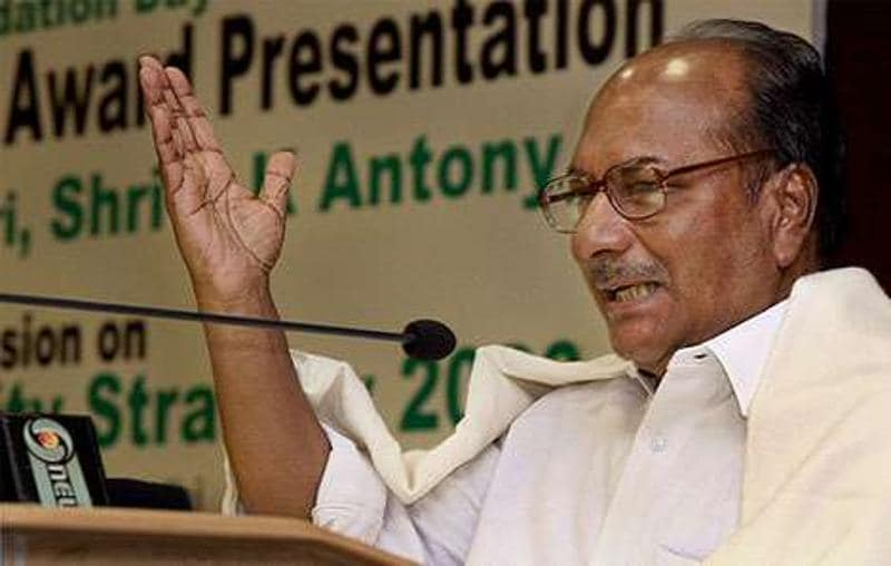 No deadline for removal of AFSPA: Antony