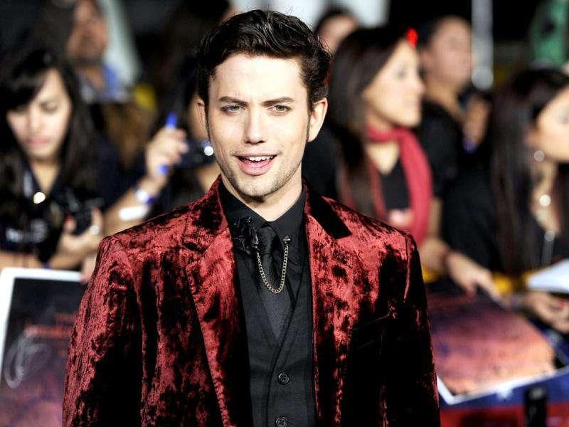 Jackson Rathbone arrives at the world premiere of The Twilight Saga: Breaking Dawn - Part 1. (AP Photo/Chris Pizzello)