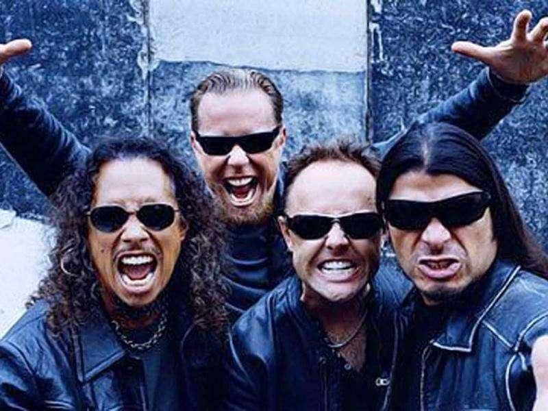 Metallica band members rocked Bangalore with their powerful performance in October 2011.