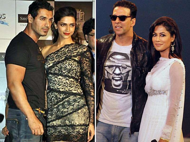 The Desi Boyz star cast - John, Akshay, Deepika and Chitrangada have been going all out to promote the film. Check out for yourself.