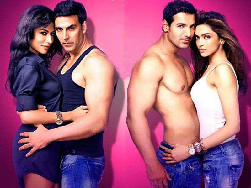 Akshay Kumar and John Abraham are back with a comic offering, six years after Garam Masala. Desi Boyz also stars two hotties- Deepika Padukone and Chitrangada Singh. Check them out.