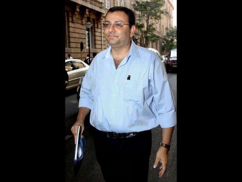 Tata Group chairman Ratan Tata's successor Cyrus Mistry is seen outside the Bombay House in Mumbai. PTI/Mitesh Bhuvad