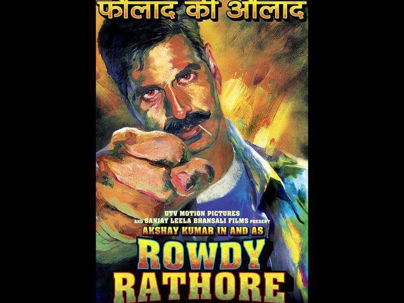 Akshay Kumar would be seen in Sanjay Leela Bhansali's action flick Rowdy Rathore.