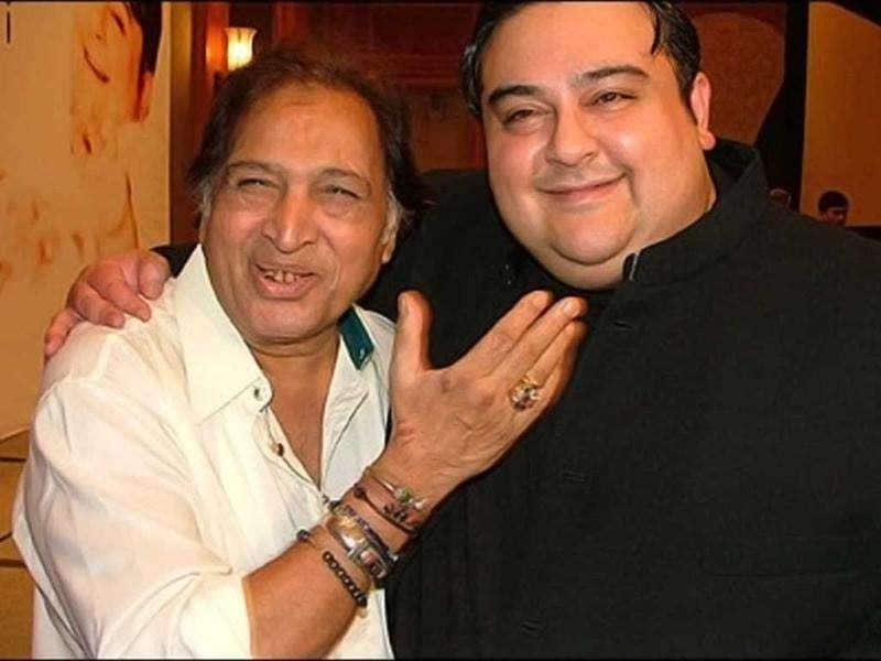 Ustad Sultan Khan with Adnan Sami.