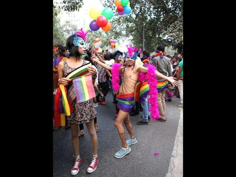The fourth edition of the Delhi Queer Pride Parade started from Barakambha Road and moved towards Jantar Mantar and was joined by hundreds.