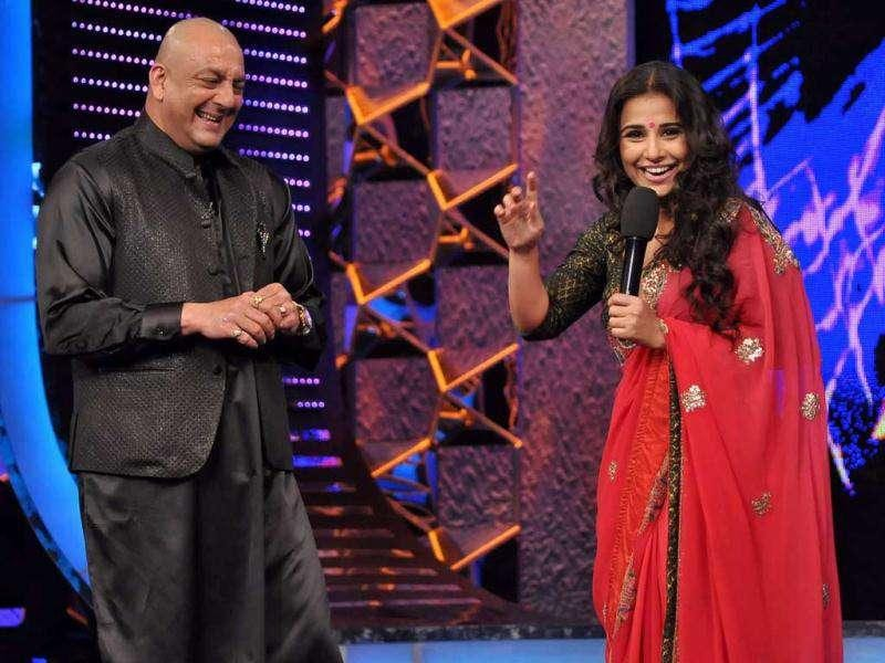 Vidya Balan with her peppy mood rocked the show.