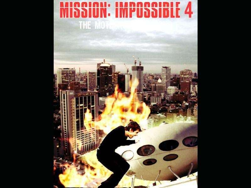 Fans await the release of Mission Impossible 4 with bated breath.