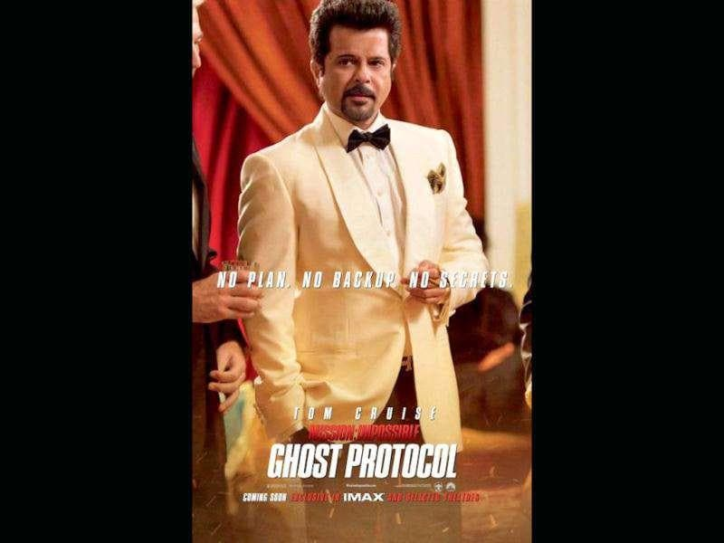 Anil Kapoor in a still from Mission Impossible: Ghost Protocol