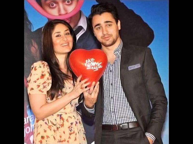 Kareena Kapoor and Imran Khan, who are starring in Karan Johar's Ek Main Aur Ekk Tu, unvieled the first look of the film. The two look quite cute together.