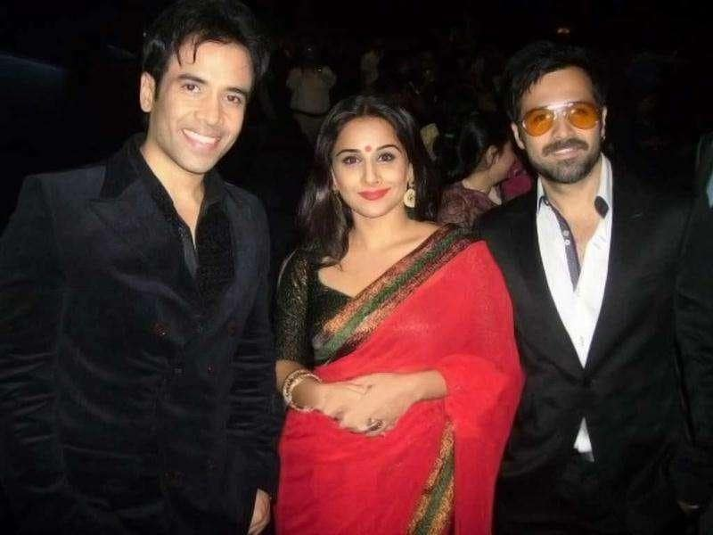 The Dirty Picture grand premiere was held at the Grand Cineplex, Dubai. Vidya Balan, Emraan Hashmi and Tusshar gave Dubai a heavy dose of Ooh La La on the red carpet.