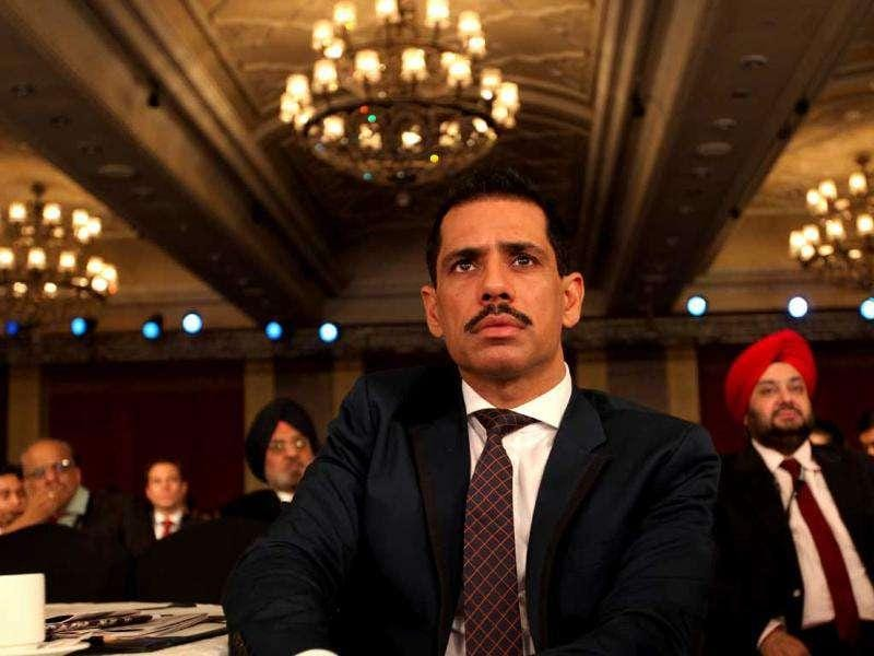 Robert Vadra at the HT Leadership Summit 2011 in New Delhi. HT Photo/Sanjeev Verma