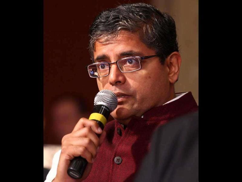 Lok Sabha MP Jay Panda at the HT Leadership Summit 2011 in New Delhi.