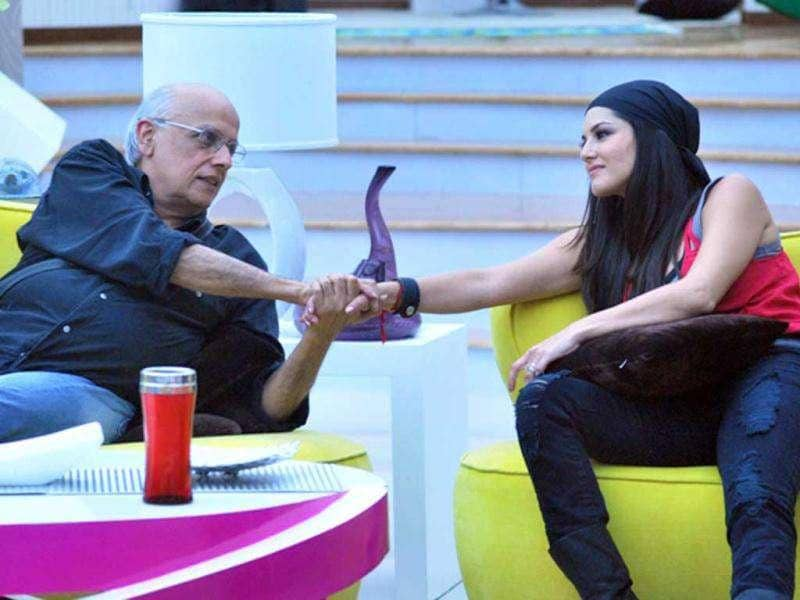 Mahesh Bhatt and Sunny Leone discuss the film deal.