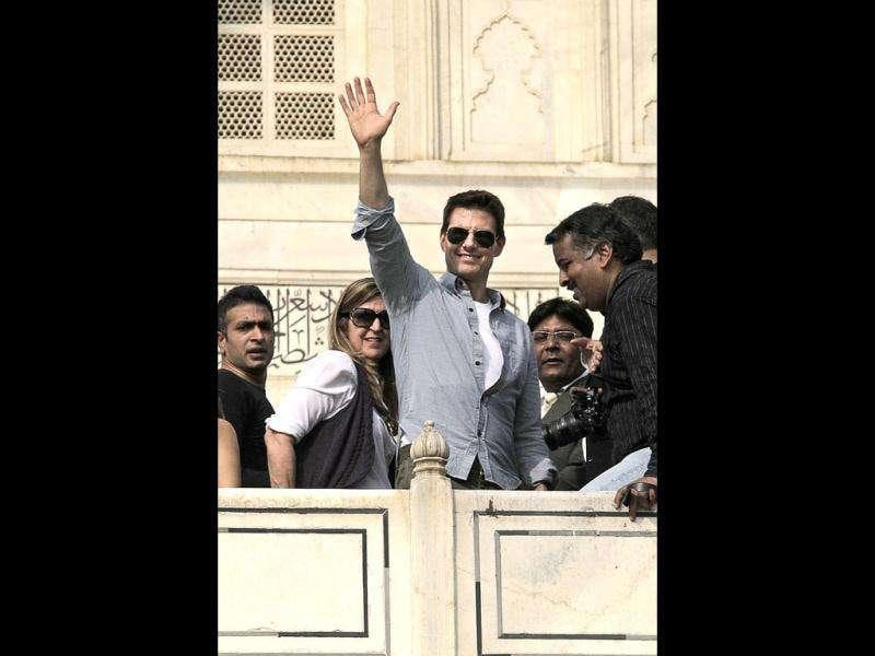 Tom Cruise would promote MI4 in India. (AP)