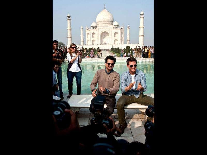 Anil Kapoor would play host to Tom Cruise in Mumbai. (AFP)