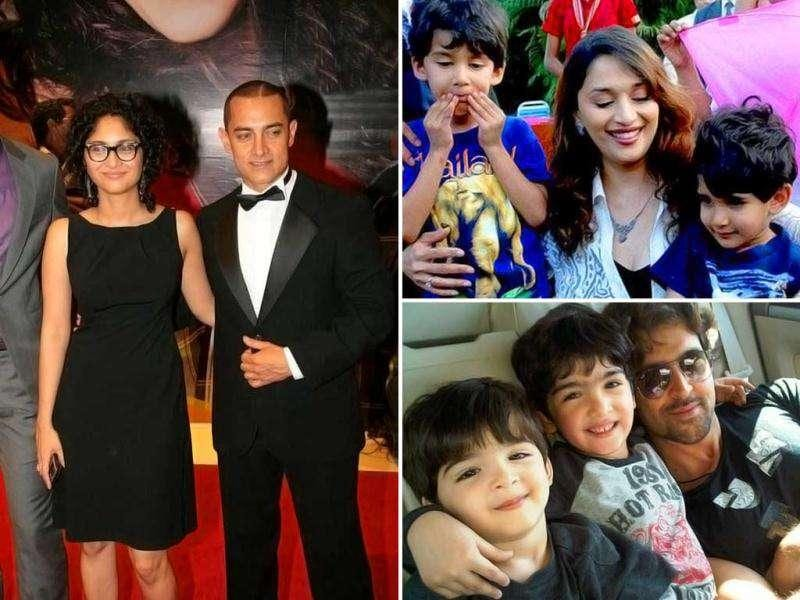 It's celebration time for Aamir Khan as he has been blessed with a baby boy on Decemeber 1. The baby was born through IVF to a surrogate mother at a private clinic in Mumbai. Here's a look at other Bollywood parents.