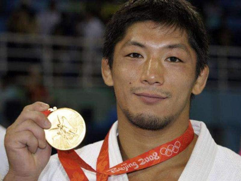 Japan's retired double Olympic judo gold medallist Masato Uchishiba was arrested on suspicion of raping a teenage girl at a hotel in Tokyo.
