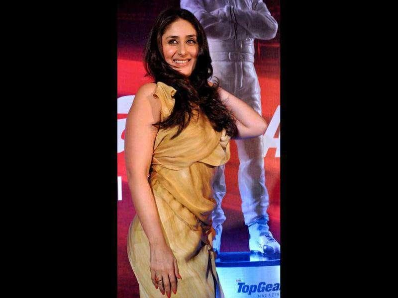 Kareena Kapoor looks graceful at the Top Gear Awards 2011 at Hotel ITC Grand Central in Mumbai on December 3.