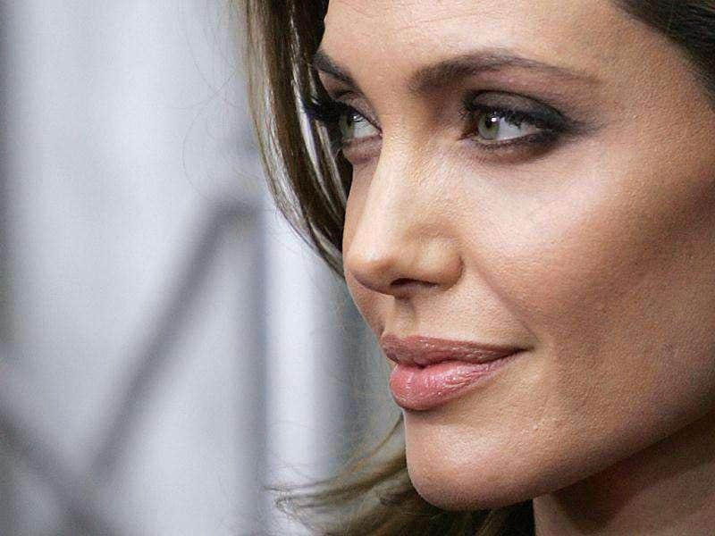 Jolie looks satisfied with her work in the film. (Reuters)