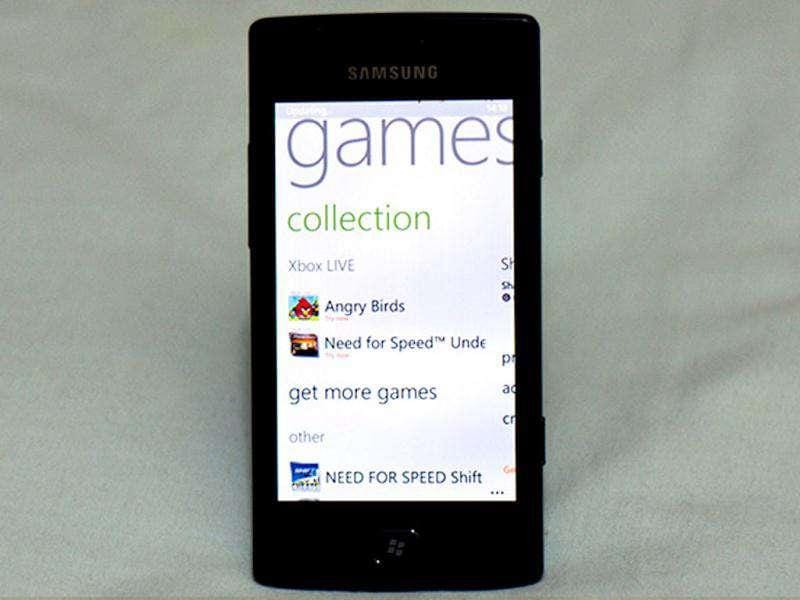 The list of games on WP7 is very rich. Probably not as much as iOS, but the presence of Xbox Live makes WP7 the best mobile gaming platform in the world.