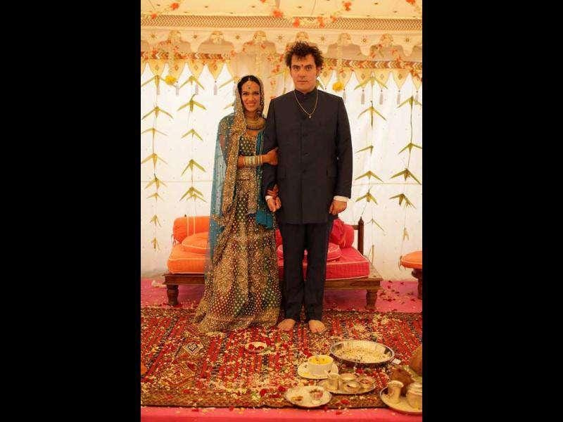 Sitar player Anoushka Shankar gave birth to son Zubin Shankar Wright shortly after her marriage to Joe Wright.