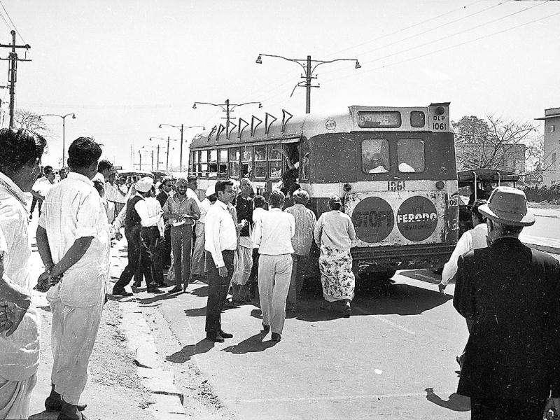 Before 1971, buses run by the Delhi Transport Undertaking (DTU) formed the backbone of the city's public transport system. But DTU, part of the MCD, did not ensure a smooth ride. So, in 1971 DTU was incorporated and rechristened Delhi Transport Corporation (DTC). The Central government took over its assets and liabilities. It was taken over by the Delhi government in August 1996.
