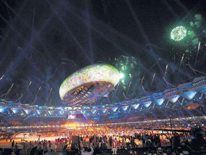 After seven years of planning and controversies, the CWG event took place in October last year with a grand opening ceremony that was witnessed by millions. The star attraction of the spectacular ceremony that mesmerized the world was the Rs 50 crore helium balloon. The opening ceremony helped repair some of the damage caused by controversies in the build–up to the Games.