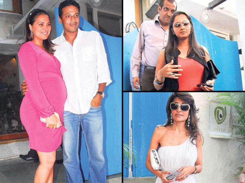 Lara Dutta and hubby Mahesh Bhupathi have been blessed with a baby girl. Here's a look at pics from the baby shower.