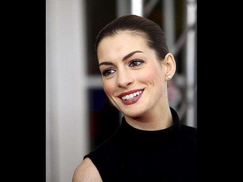 Actor Anne Hathaway (Reuters)